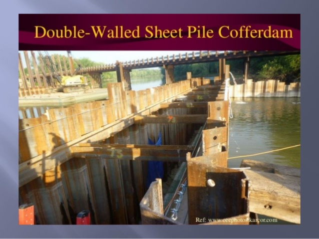 What Is A Cofferdam And Its Types Civil4m